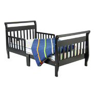 Dream On Me Sleigh Toddler Bed, Black at Sears.com