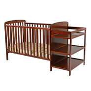 Dream On Me, 2 in 1 Full Size Crib and Changing Table Combo, Espresso at Sears.com