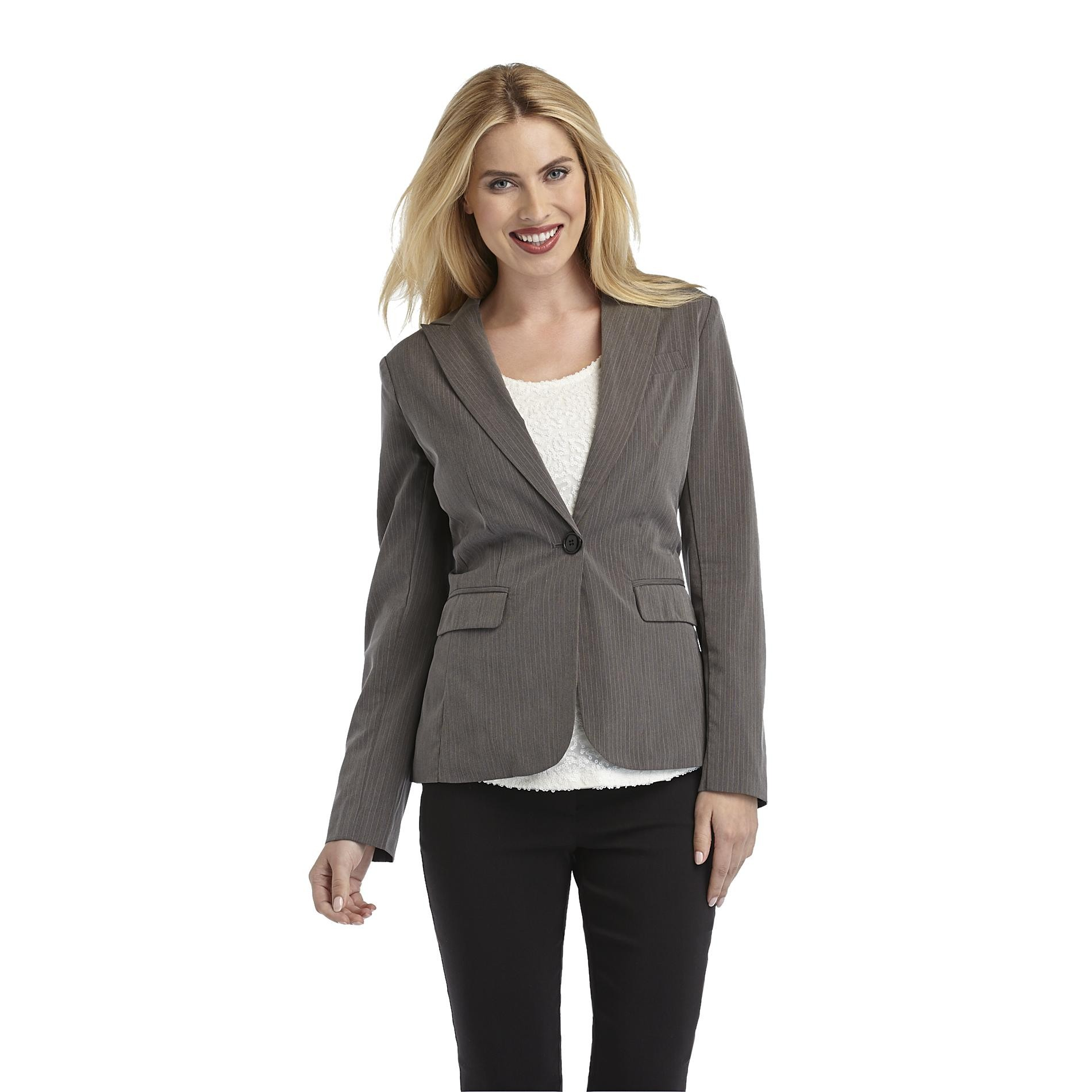 Metaphor Women's Suiting Blazer - Pinstripe at Sears.com