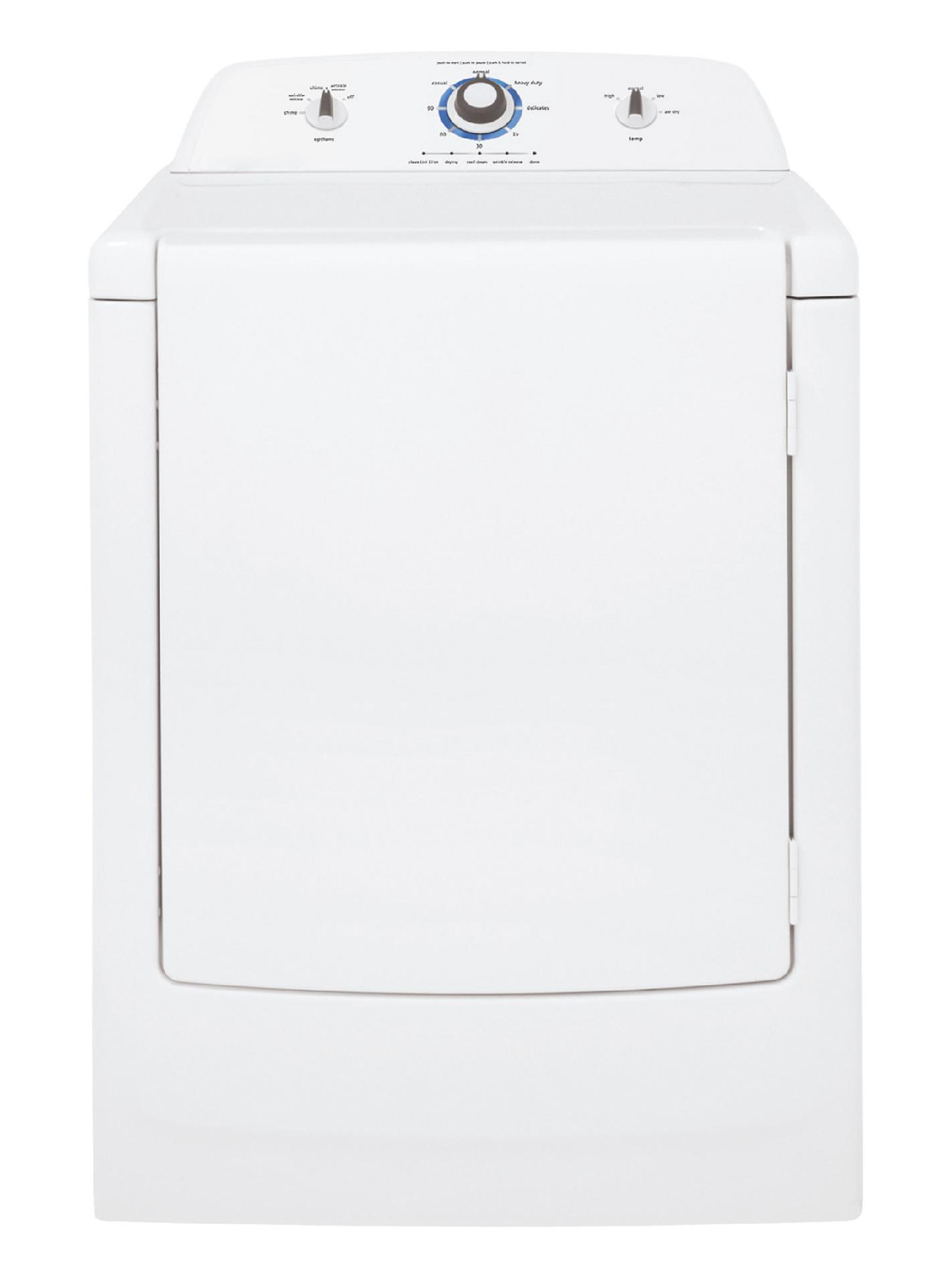 Frigidaire 7.0 cu. ft. Gas Dryer w/ Wrinkle Release - White