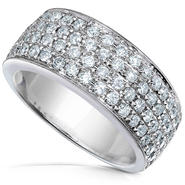 Diamond-Me Diamond Fashion Band 1 carat (ct.tw) in 14K White Gold at Sears.com