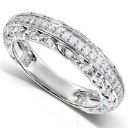 Diamond-Me Diamond Fashion Band 1/3 carat (ct.tw) in 14K White Gold at Kmart.com