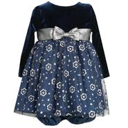 Ashley Ann Infant Girl's Velvet & Chiffon Party Dress Set - Floral at Sears.com