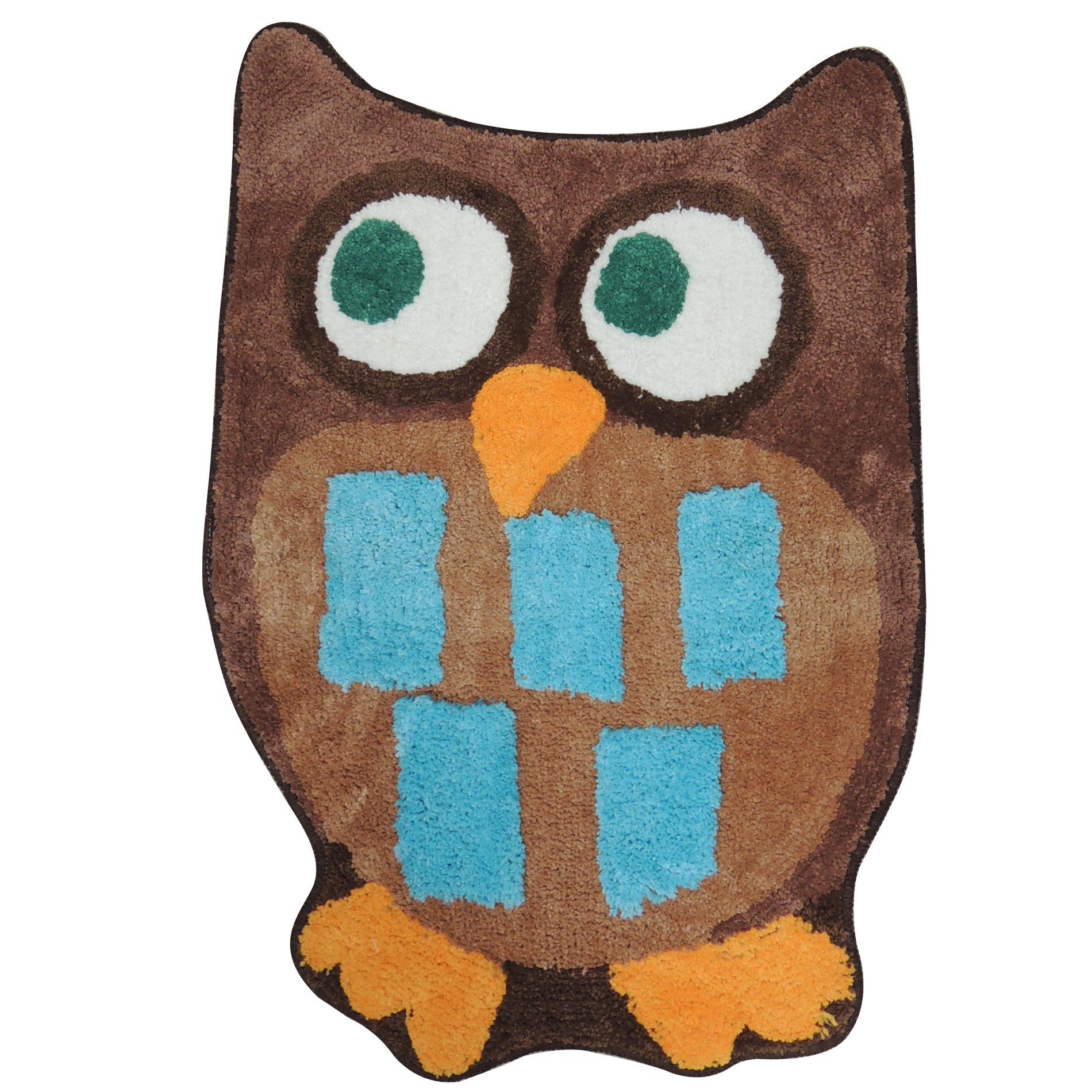 Owl Garden Bath Rug