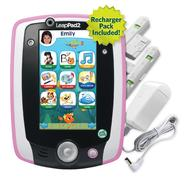 LeapFrog LeapPad2 Power Learning Tablet, Pink (includes rechargeable battery - $40 value) at Sears.com