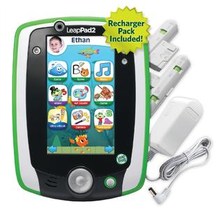 LeapFrog LeapPad2 Power Kids' Learning Tablet, Green (includes rechargeable battery - $40 value) at Sears.com