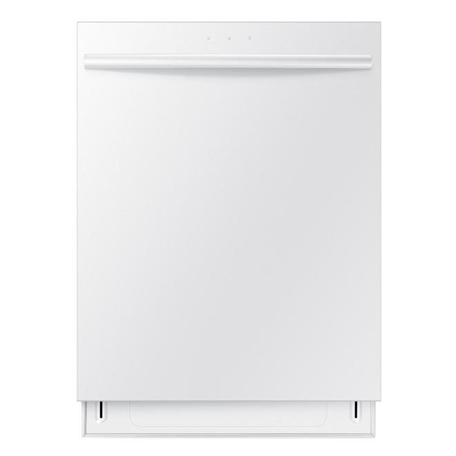 "Samsung 24"" Built-In Dishwasher w/ Stainless Steel Tub - White"
