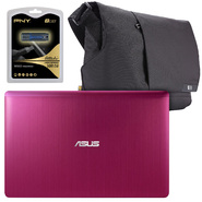 "Asus X202ED 11.6"" Notebook, Messenger Bag and USB Flash Drive Bundle at Sears.com"
