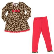 Young Hearts Girl's Tunic & Leggings - Leopard Print at Sears.com