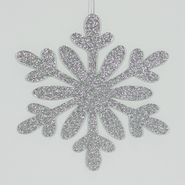 Jaclyn Smith I heart Christmas Silver Glitter Snowflake 3ct Paper Decor Tree Attachments at Kmart.com