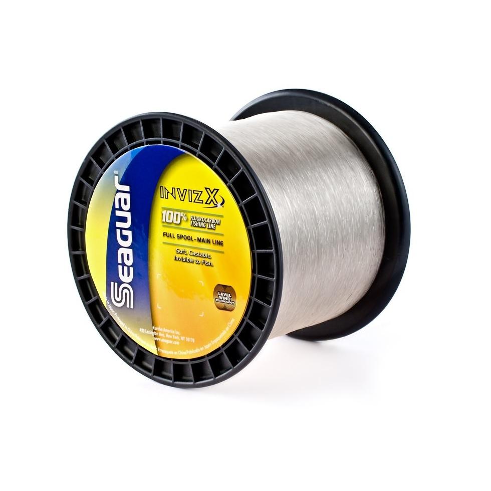 Seaguar Invizx 100% Fluorocarbon Line 10lb 1000yd 10VZ1000, Clear
