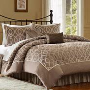 Jaclyn Smith 4-Piece Ogee Comforter Set at Kmart.com