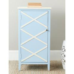 Safavieh American Home Cary Cabinet Light Blue/White at Kmart.com