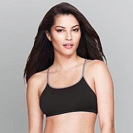 Inspirations Women's 2-Pack Sport Bras - Racerback at Kmart.com