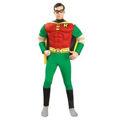 rubies costume co morris costumes ru88078sm mens robin adult muscle costume small