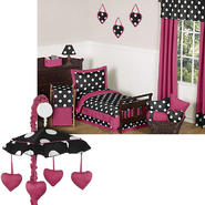 Sweet Jojo Designs Hot Dot Collection Bedding Set & Mobile at Sears.com