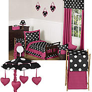 Sweet Jojo Designs Hot Dot Collection Bedding Set &Room Decor Bundle at Sears.com