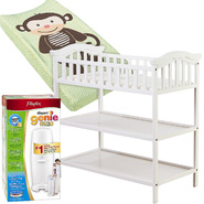 Dream On Me Jessica Changing Table with Changing Pad & Diaper Pail Bundle at Kmart.com