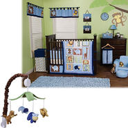 Jungle 123 - 3 Piece Crib Bedding Set & Mobile Bundle at Kmart.com