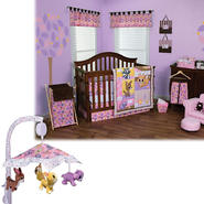 Lola Fox and Friends - 3 Piece Crib Bedding Set & Mobile Bundle at Kmart.com