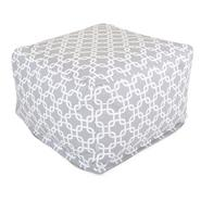 Majestic Home Goods Gray Links Large Ottoman at Kmart.com