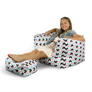 American Furniture Alliance Junior Arm Chair/Ottoman - I Heart You at Kmart.com