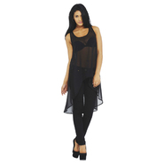 AX Paris Women's Sheer Drop Back Vest - Online Exclusive at Kmart.com
