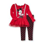 Disney Baby Infant & Toddler Girl's Tunic Top & Leggings at Kmart.com
