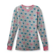 Joe Boxer Women's Long-Sleeve Thermal Top - Hearts at Kmart.com