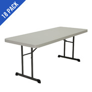 Lifetime 6 ft. Professional Grade Folding Table 18 Pack (Almond) at Kmart.com