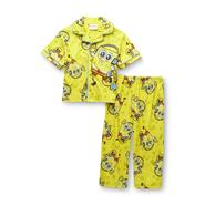 Nickelodeon SpongeBob SquarePants Toddler Boy's Flannel Pajamas at Kmart.com
