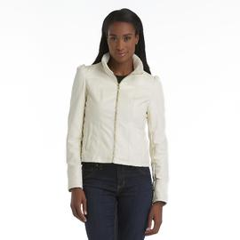 Triple Star Women's Shrunken Faux Leather Jacket at Sears.com
