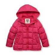 Route 66 Girl's Hooded Puffer Jacket at Kmart.com