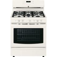 Kenmore 5.6 cu. ft. Gas Range w/ True Convection Oven - Bisque at Kenmore.com