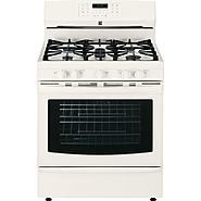 Kenmore 5.6 cu. ft. Gas Range w/ True Convection Oven - Bisque at Sears.com