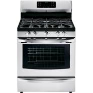 Kenmore 5.6 cu. ft. Gas Range w/ True Convection - Stainless Steel at Kenmore.com