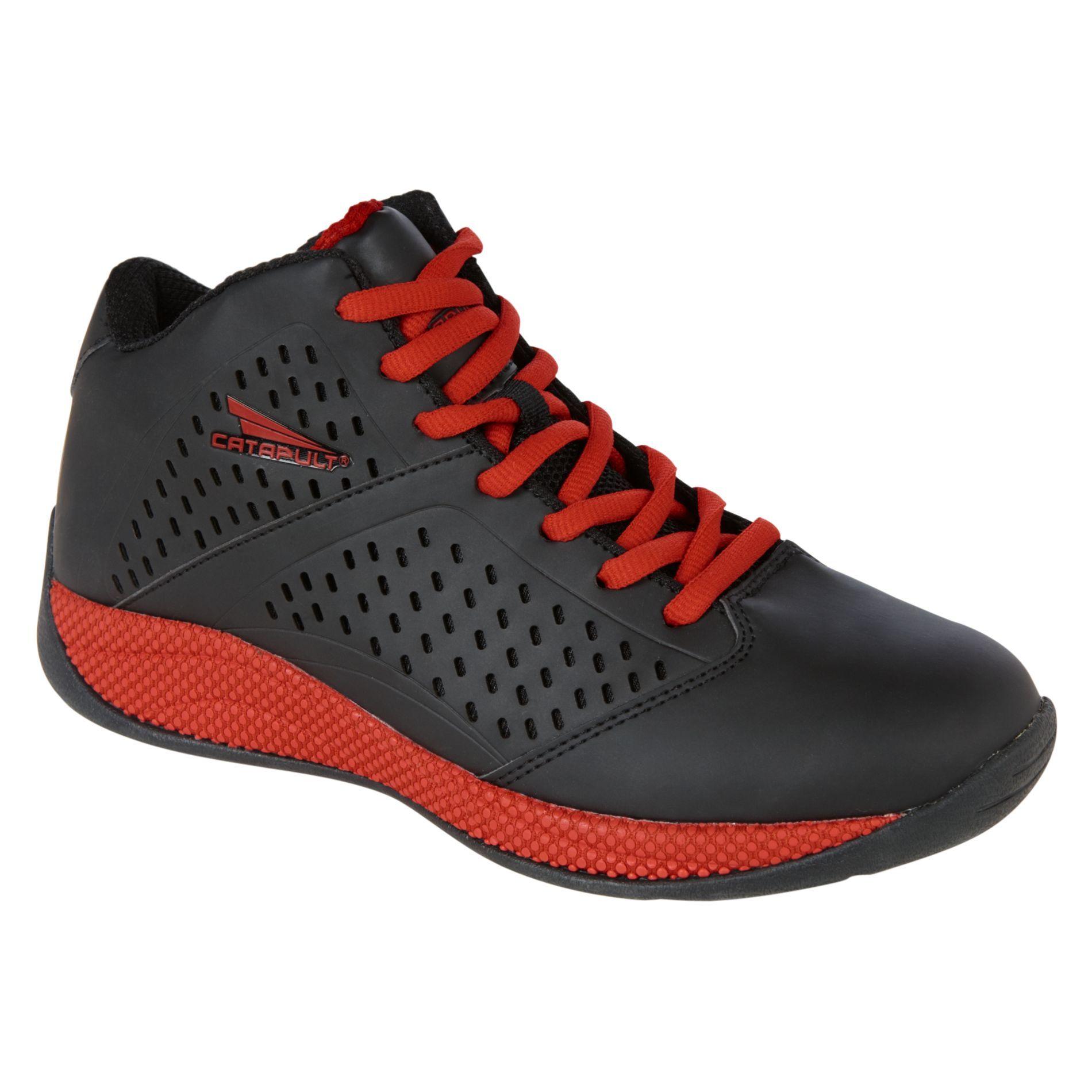 Men's Bounce Athletic Shoe - Black/Red