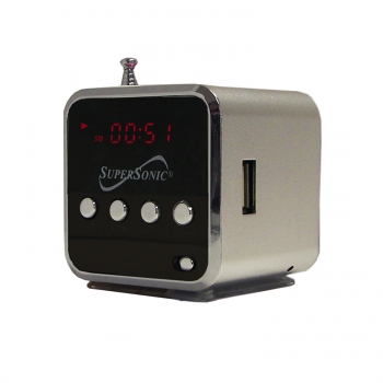 Portable MP3 Speaker with USB/SD/AUX and FM Radio/LED Display