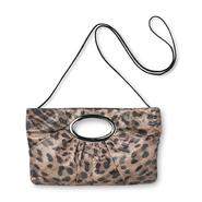 Bongo Junior's Ruched Clutch Bag - Leopard Print at Kmart.com