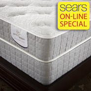 Serta Gibbons Plush Queen Mattress at Sears.com