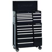 40-Inch 19-Drawer Premium Heavy-Duty 2-PC Combo - Black at Sears.com