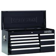 Craftsman 8-Drawer 49-Inch Black Premium Heavy Duty Top Chest at Craftsman.com
