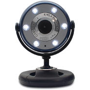 Gear Head 1.3MP WebCam With Night Vision - Blue/Black at Sears.com