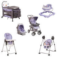 Disney Winnie The Pooh Garden Purple Baby Gear Bundle at Sears.com