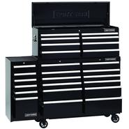 52-Inch 26-Drawer Premium Heavy-Duty 3-PC Combo - Black at Sears.com
