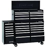 52-Inch 26-Drawer Premium Heavy-Duty 3-PC Combo - Black at Kmart.com