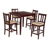 Essential Home Hayden 5-Piece Upholstered Dining Set at Kmart.com
