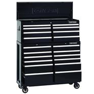 52-Inch 20-Drawer Premium Heavy-Duty 2-PC Combo - Black at Kmart.com
