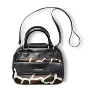 Jaclyn Smith Women's Faux Leather Satchel Purse - Giraffe Print at Kmart.com