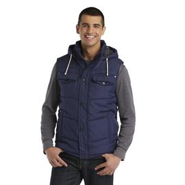 Route 66 Men's Hooded Vest at Kmart.com